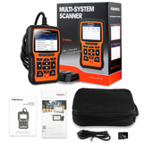 FOXWELL NT510 Full System OBD2 Auto Fault Code Reader Reset Diagnostic Scan Tool Fits FORD
