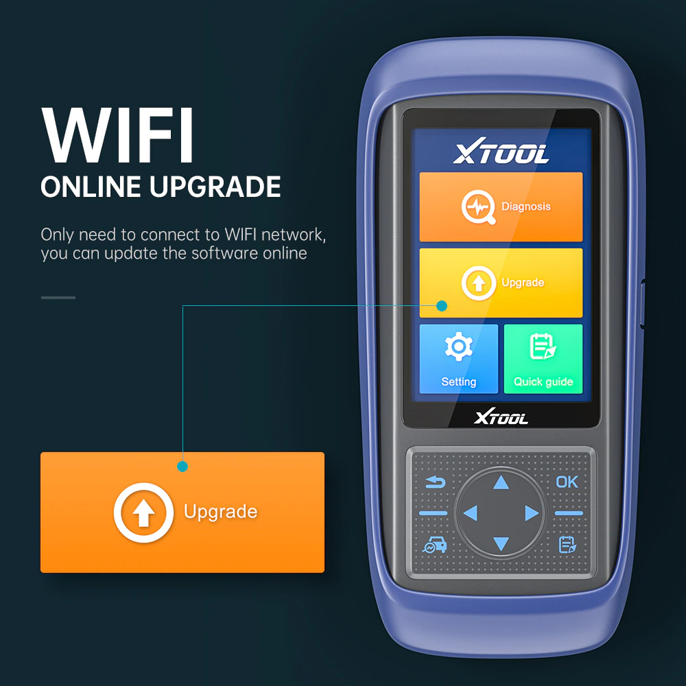 XTOOL A30PRO Newest OBD2 Car Diagnostic Tool Code Read Scanner With 13 Kinds Special Function Free Update PK MK808/CRP429C