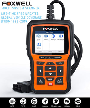 FOXWELL NT510 Full System OBD2 Auto Fault Code Reader Reset Diagnostic Scan Tool Fits MINI