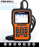 FOXWELL NT510 Full System OBD2 Auto Fault Code Reader Reset Diagnostic Scan Tool Fits RENAULT