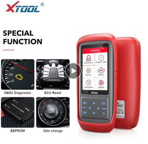 XTOOL X100 PRO2 OBD2 IMMO Programming Coding ECU Vehicle Scanner Service Tool