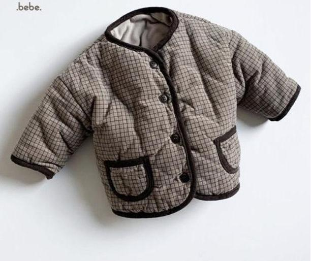 Baby brown jacket