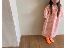 Load image into Gallery viewer, Orange long dress