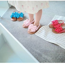 Load image into Gallery viewer, Light pink ribbon sandals