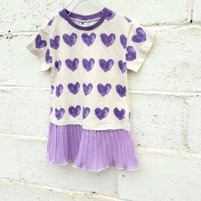 Purple Heart dress