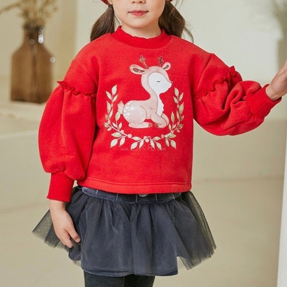 Red Bambi sweater