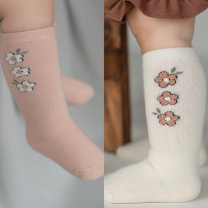 2 piece set knee socks