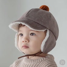 Load image into Gallery viewer, Winter baby cap