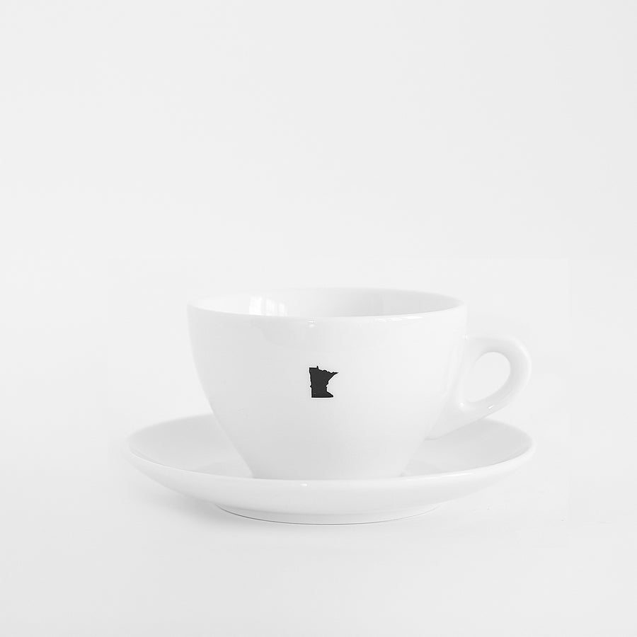 d'Ancap Latte Cup with Saucer