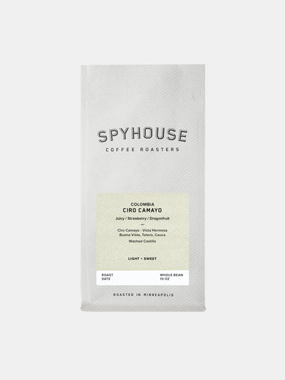 Spyhouse Coffee Ciro Camayo Colombia