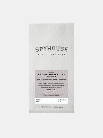 Spyhouse Coffee Bold and the Beautiful Organic