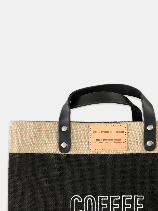 Apolis Market Tote - COFFEE
