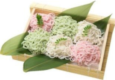 Japanese Fish Noodles ,500g ( white or pink)