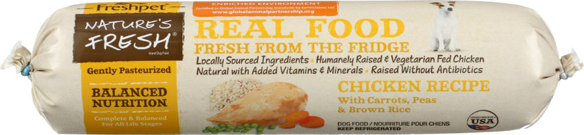 Natures Fresh: Dog Meal Chicken Vegetable Brown, 1 Lb