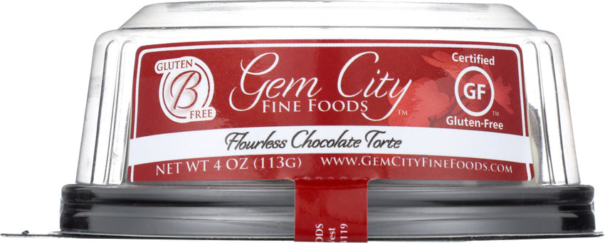 Gem City Fine Foods: Torte Gluten Free Chocolate 3 Inches, 4 Oz