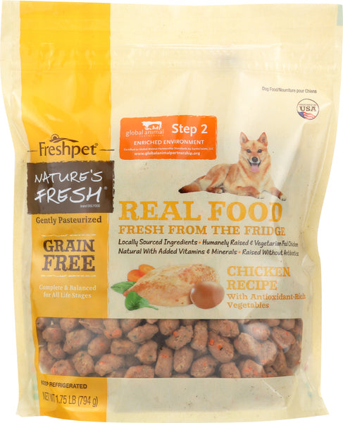 Natures Fresh: Dog Food Chicken And Egg Recipe, 1.75 Lb