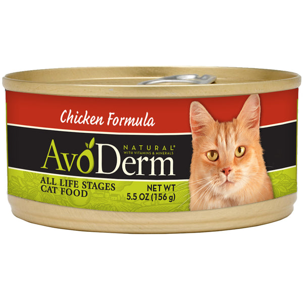 Avoderm: Cat Can Natural Chicken, 5.5 Oz