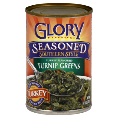 Glory Foods: Turnip Greens Smoked Turkey, 14.5 Oz