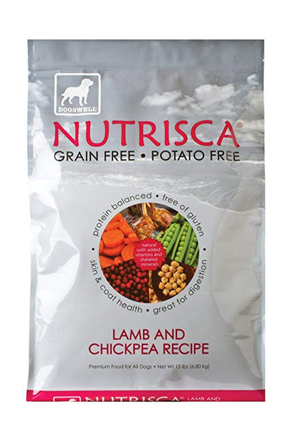 Dogswell: Nutrisca Lamb Chickpea, 15 Lb