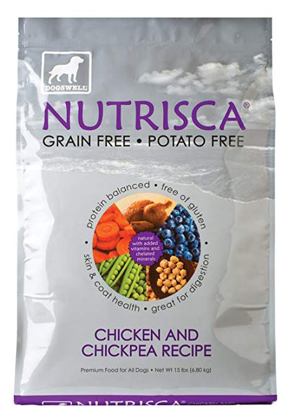 Dogswell: Nutrisca Chicken Chickpea, 15 Lb