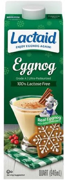 Lactaid: Eggnog, 32 Oz