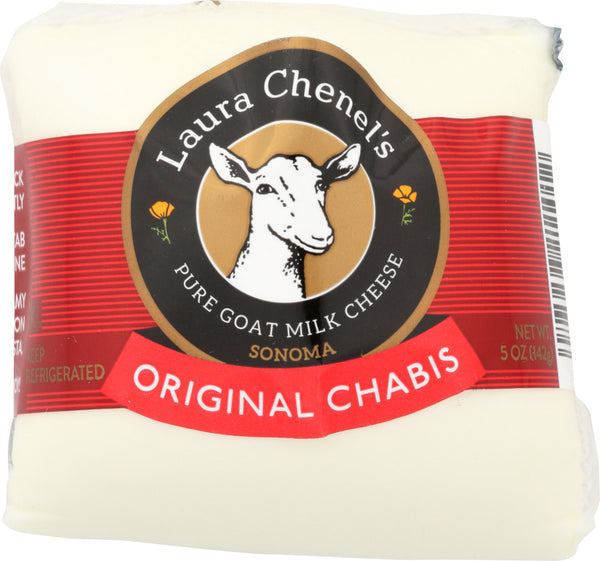 Laura Chenels: Fresh Goat Cheese Original Chabis, 5 Oz