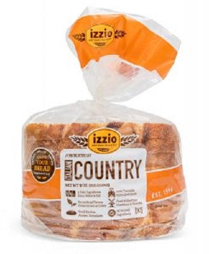 Izzio Artisan Bakery: Bread Italian Country, 9 Oz
