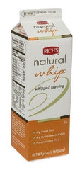 Richs: Natural Whip Whipped Topping, 2 Lb