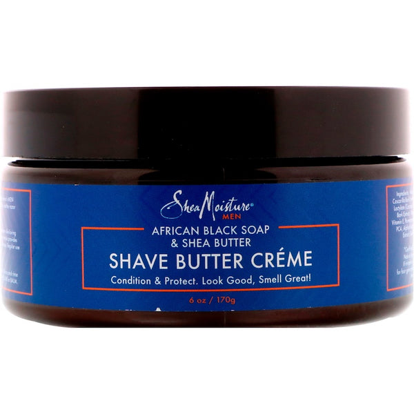 Sheamoisture: Shave Butter Cream Shea, 6 Oz
