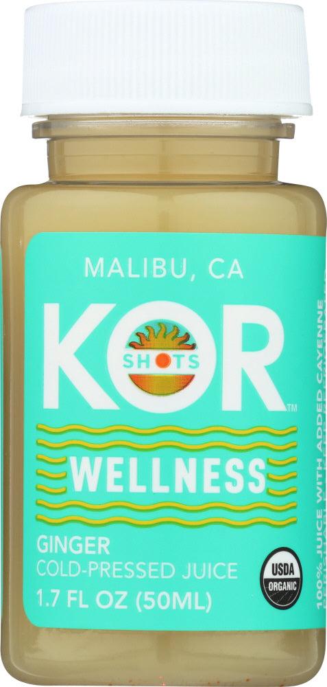 Kor Shots: Wellness Ginger Shot, 1.70 Oz