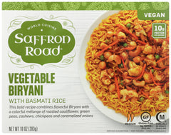Saffron Road: Vegetable Biryani, 10 Oz