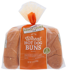 Gonnella Frozen: Wheat Hotdog Buns, 12 Oz