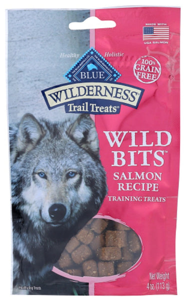 Blue Buffalo: Wilderness Trail Treats For Dog Salmon Recipe, 4 Oz