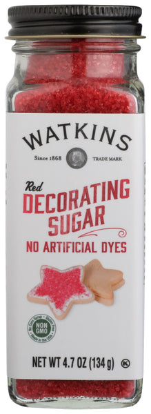 Watkins: Red Decorating Sugar, 4.70 Oz