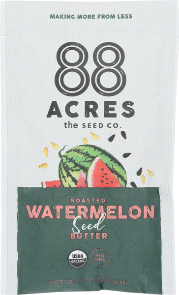 88 Acres: Roasted Watermelon Seed Butter, 1.16 Oz
