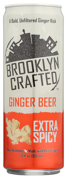 Brooklyn Crafted: Ginger Beer Extra Spicy, 12 Fl Oz