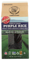 Ralston Family Farms: Purple Rice, 16 Oz