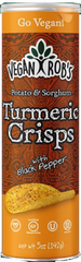 Vegan Rob's: Potato & Sorghum Turmeric Crisps, 5 Oz
