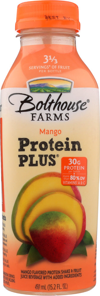 Bolthouse Farms: Mango Protein Plus Juice, 15.20 Oz
