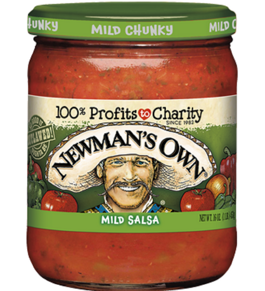 Newman's Own: Mild Salsa, 16 Oz