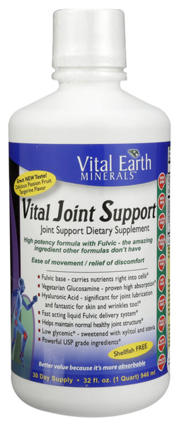 Vital Earth Minerals: Vital Joint Support, 32 Oz