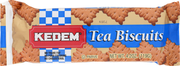 Kedem: Tea Biscuits Plain, 4.2 Oz