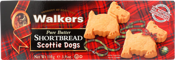Walkers: Pure Butter Shortbread Scottie Dogs, 3.8 Oz
