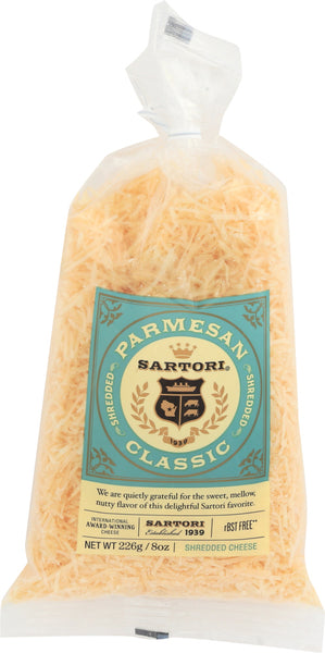 Sartori: Parmesan Shredded Cheese, 8 Oz