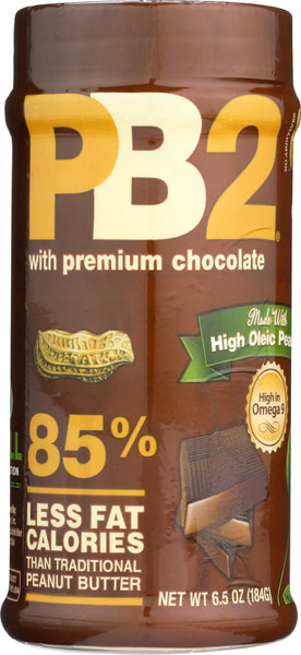 Pb2: Powdered Peanut Butter With Premium Chocolate, 6.5 Oz