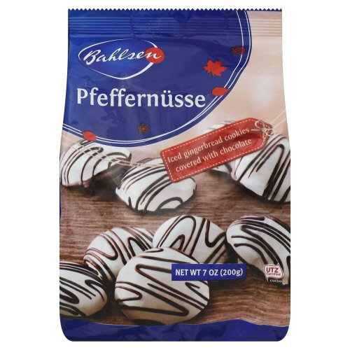 Bahlsen: Holiday Chocolate Pfeffernuesse Cookie, 7 Oz