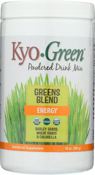 Kyolic: Kyo-green Energy Powdered Drink Mix, 10 Oz