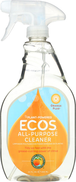 Earth Friendly: Cleaner All Purpose Orange, 22 Oz