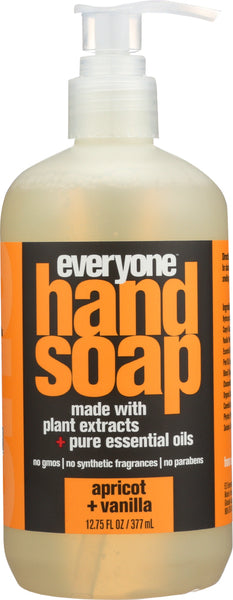 Everyone: Apricot + Vanilla Hand Soap, 12.75 Oz