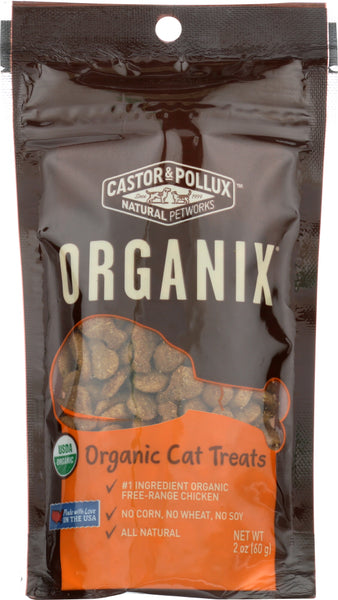 Castor & Pollux: Organic Cat Treats Chicken Flavor, 2 Oz